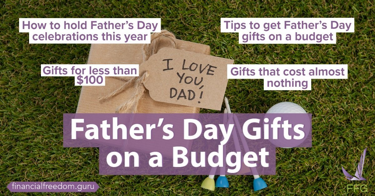 Father's Day Gifts on a Budget